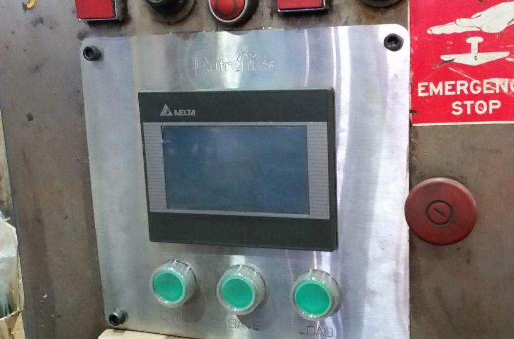Autronics HMI and push button assembly upgrade