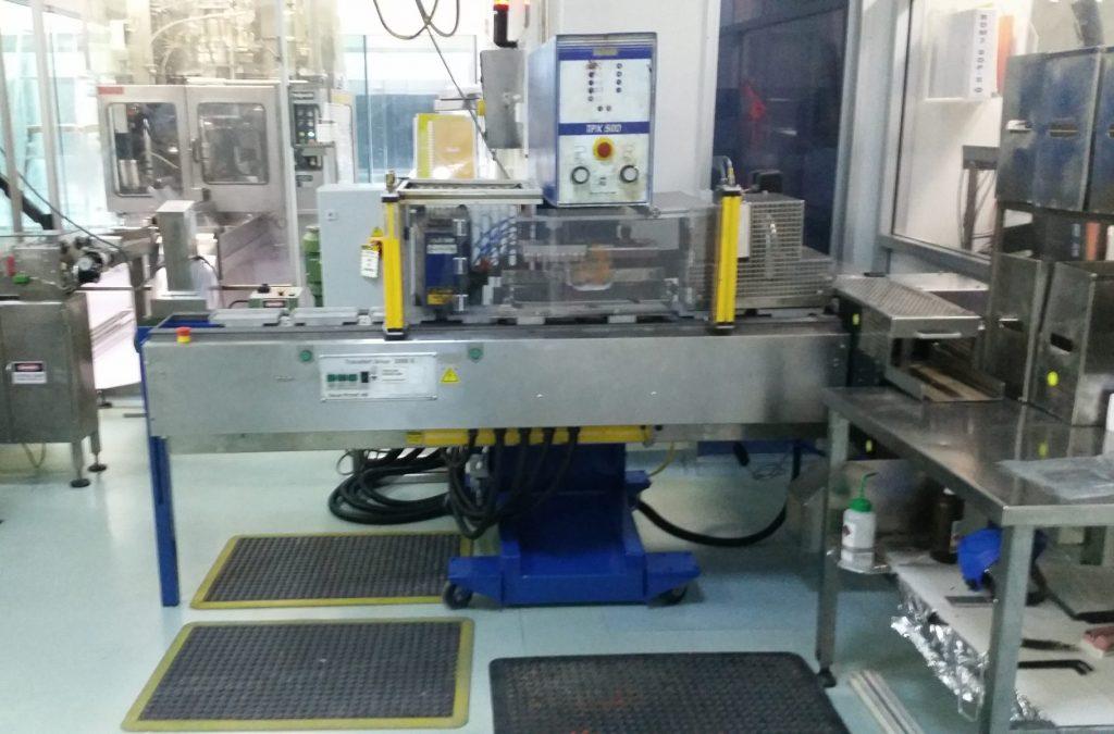 Autronics printing machine rebuild Pfizer