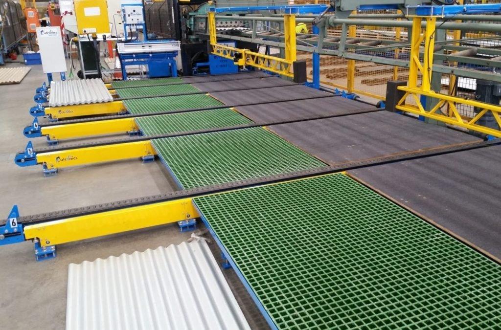 Autronics side-shift conveyor lines