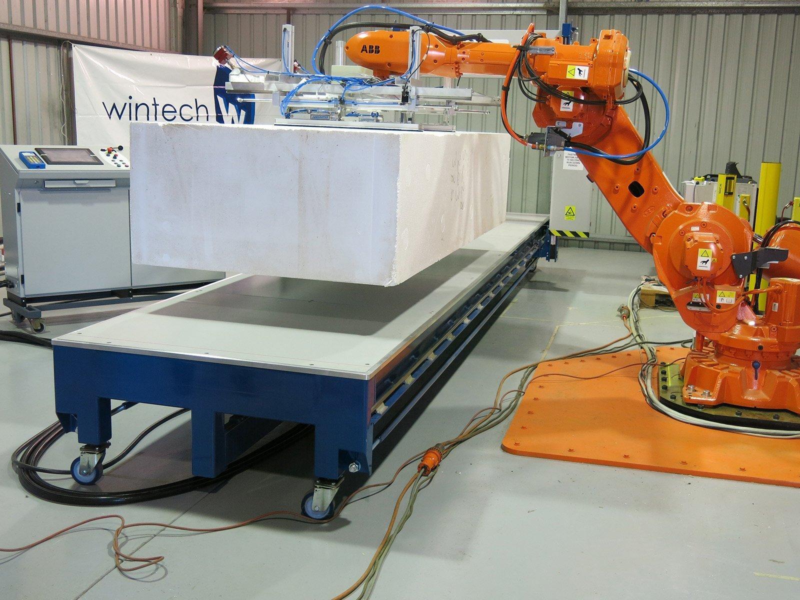 robotic machine loading
