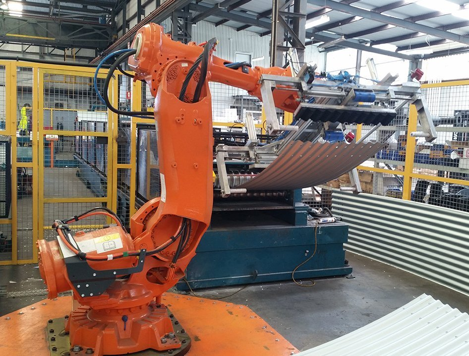 machine tending robotic automation