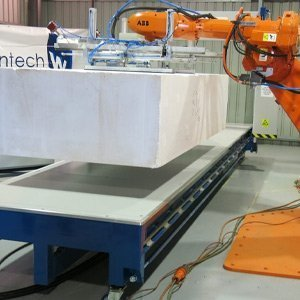 Foam Handling Robotic Cell