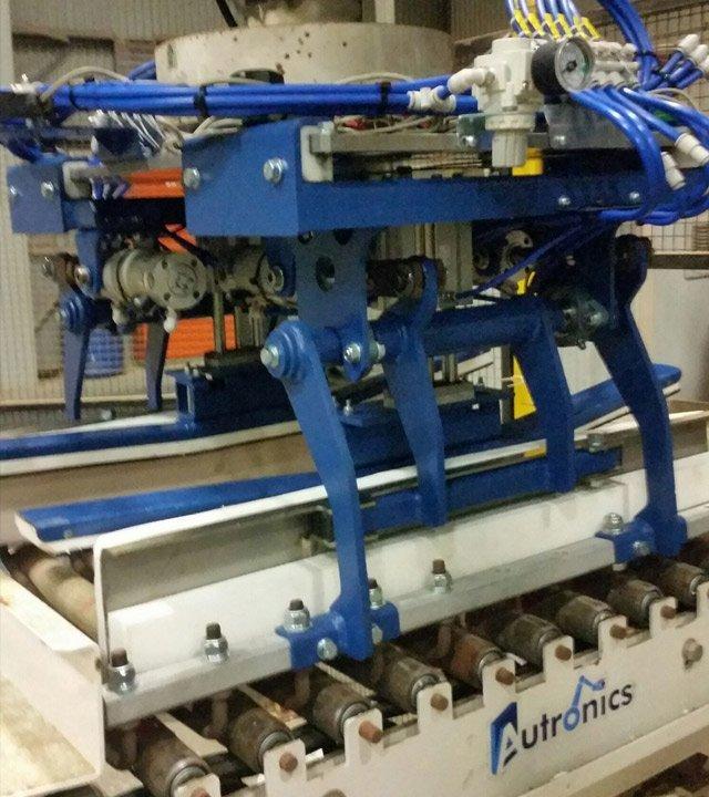 repair work done on factory equipment
